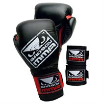 Bad Boy Gloves & Wraps Combo